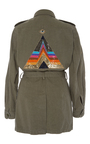 Belted Safari Jacket by FIGUE for Preorder on Moda Operandi