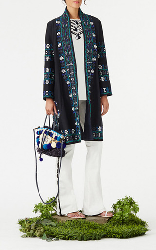 Embroidered Martina Jacket by FIGUE for Preorder on Moda Operandi
