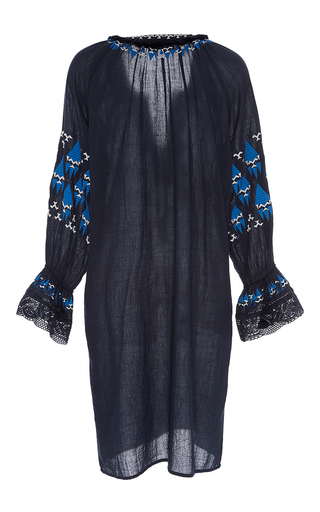Embroidered Melita Mini Dress by FIGUE for Preorder on Moda Operandi