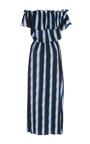 Off The Shoulder Stripe Maya Dress by FIGUE for Preorder on Moda Operandi