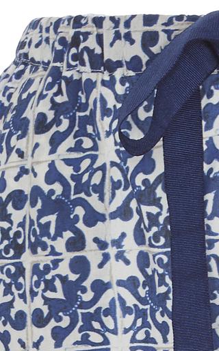 Printed Tassel Short by FIGUE for Preorder on Moda Operandi