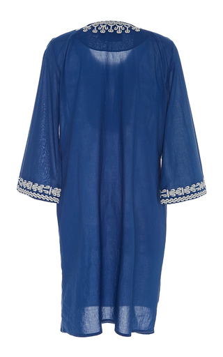 Embroidered Sophie Tunic Dress by FIGUE for Preorder on Moda Operandi