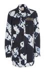 Tie Dye Safari Jacket by FIGUE for Preorder on Moda Operandi