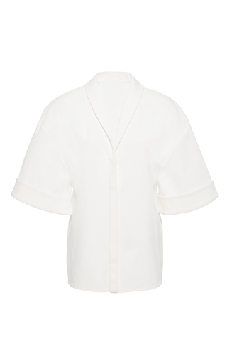 Medium hensely white wide sleeve top