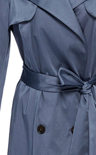 Long Trench Coat by HENSELY for Preorder on Moda Operandi