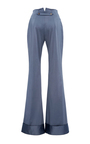 Cuffed Wide Leg Trouser  by HENSELY for Preorder on Moda Operandi