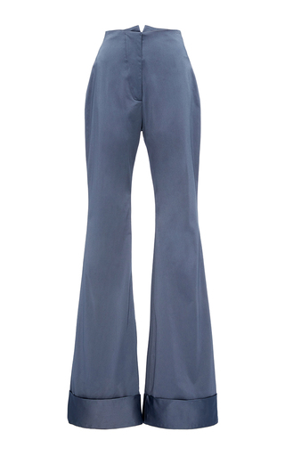 Medium hensely blue cuffed wide leg trouser