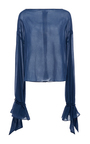 Tie Sleeve Top  by HENSELY for Preorder on Moda Operandi