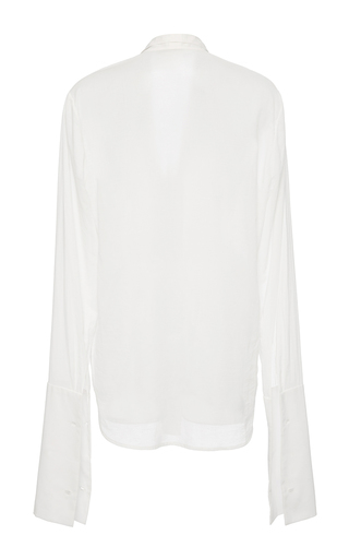 French Cuff Blouse  by HENSELY for Preorder on Moda Operandi