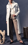 Long Trench  by HENSELY for Preorder on Moda Operandi