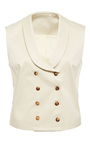 Double Breasted Vest  by HENSELY for Preorder on Moda Operandi