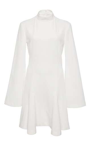 Medium hensely white micro flair dress