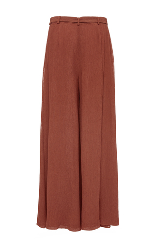 Textured Inverted Pleat Pant  by HENSELY for Preorder on Moda Operandi