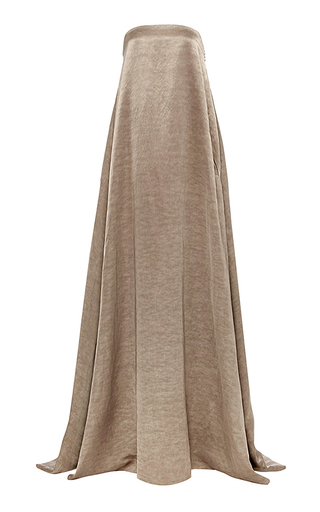 Medium hensely tan strapless gown 2