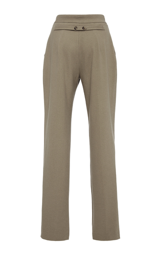 High Waisted Trousers by HENSELY for Preorder on Moda Operandi