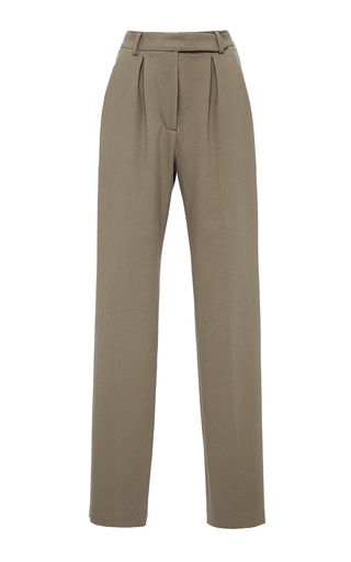 Medium hensely tan high waisted trousers