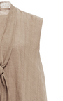 Micro Front Tie Dress  by HENSELY for Preorder on Moda Operandi