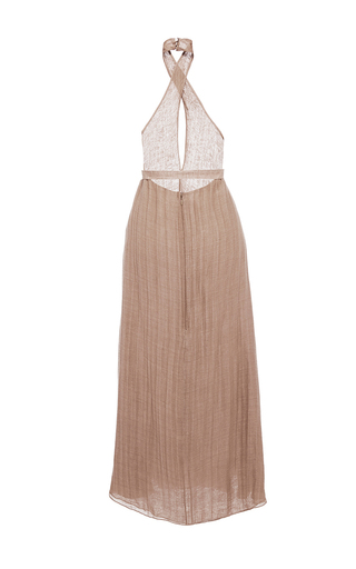 Belted Halter Dress  by HENSELY for Preorder on Moda Operandi