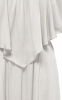 Off The Shoulder Dress  by HENSELY for Preorder on Moda Operandi