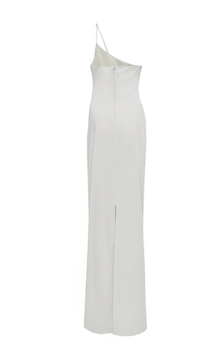 One Shoulder Column Gown  by HENSELY for Preorder on Moda Operandi