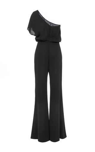 One Shoulder Jumpsuit  by HENSELY for Preorder on Moda Operandi