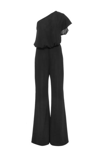 Medium hensely black one shoulder jumpsuit