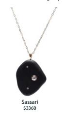 Medium cvc stones black sassari