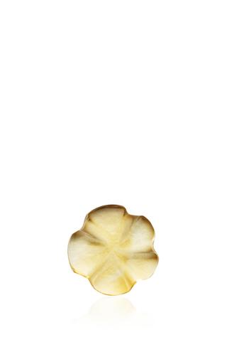 Medium loquet london yellow citrine flower charm