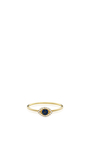 18 K Puzzle Ring Hope And Protection by LOQUET LONDON for Preorder on Moda Operandi