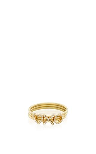Medium loquet london gold 18k puzzle ring love