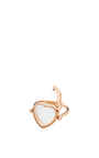14 K Rose Gold 15 Mm Heart Locket Ring by LOQUET LONDON for Preorder on Moda Operandi