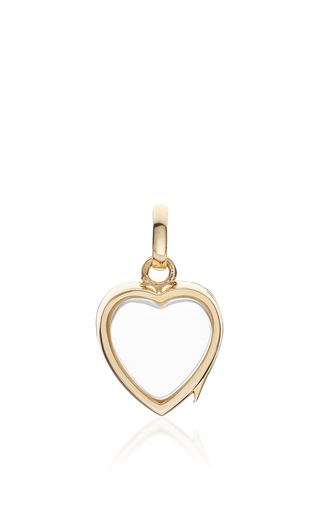 Medium loquet london gold small heart locket in gold