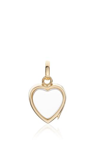 Medium loquet london gold small heart locket in gold