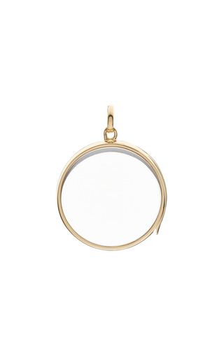 Medium loquet london gold medium round locket in gold