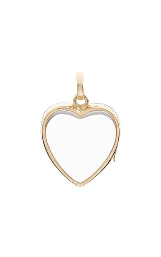 Medium loquet london gold large heart locket in gold