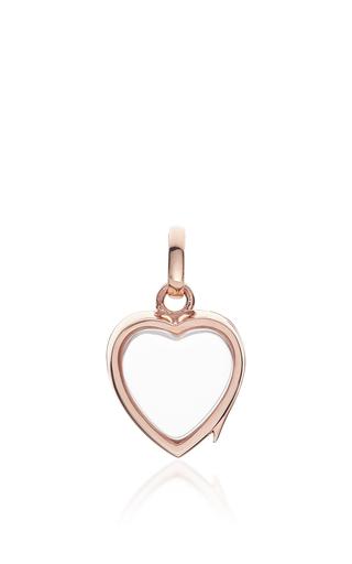 Medium loquet london rose gold small heart locket in rose gold
