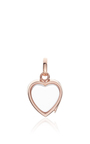 Small Heart Locket In Rose Gold by LOQUET LONDON for Preorder on Moda Operandi