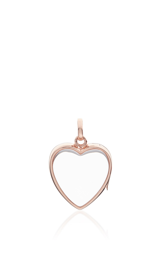 Medium loquet london rose gold medium heart locket in rose gold
