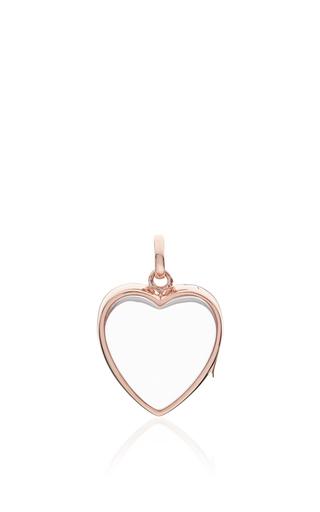 Medium loquet london rose gold medium heart locket in rose gold