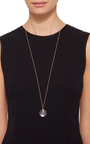 Large Round Locket In Rose Gold by LOQUET LONDON for Preorder on Moda Operandi