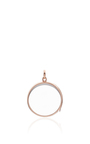 Large Heart Locket In Rose Gold by LOQUET LONDON for Preorder on Moda Operandi
