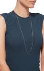 32 Inch Rose Gold Chain by LOQUET LONDON for Preorder on Moda Operandi
