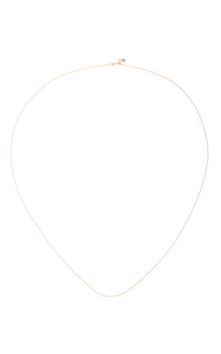 Medium loquet london rose gold 32 inch rose gold chain