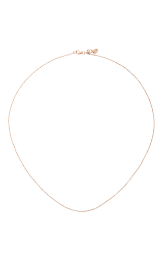 Medium loquet london rose gold 18 inch rose gold chain