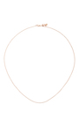 18 Inch Rose Gold Chain by LOQUET LONDON for Preorder on Moda Operandi