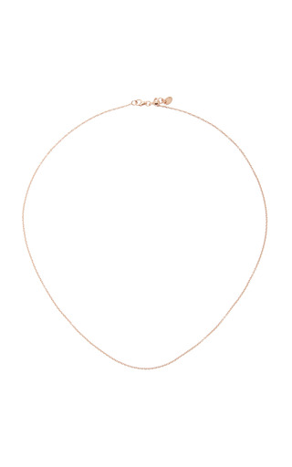 Medium loquet london gold 18 inch yellow gold chain