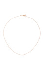 18 Inch Yellow Gold Chain by LOQUET LONDON for Preorder on Moda Operandi