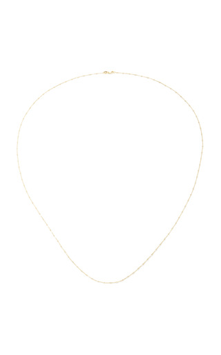 Medium loquet london gold 32 inch yellow gold sphere chain