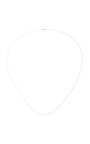 32 Inch Yellow Gold Sphere Chain by LOQUET LONDON for Preorder on Moda Operandi