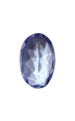 Medium loquet london blue tanzanite charm